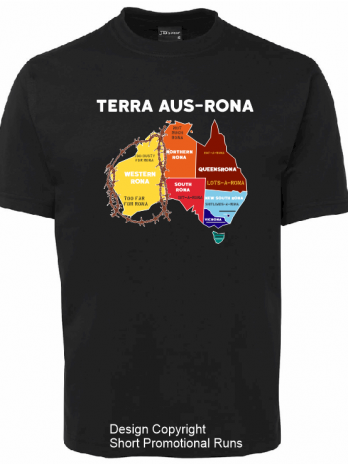 TERRA AUS-RONA 100% Cotton T Shirt
